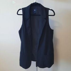 BOGO FREE Gap black lo1ng formal vest
